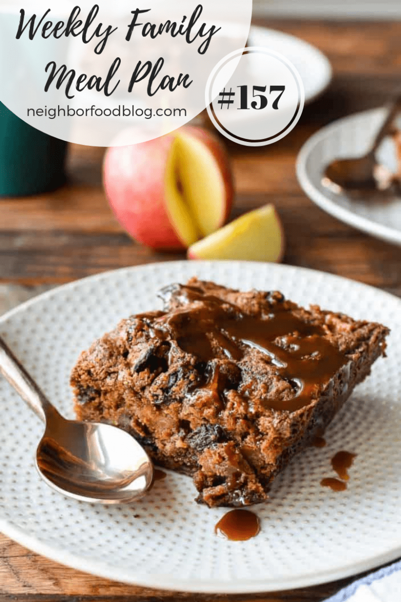 Weekly Family Meal Plan 157 + He's Here!