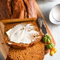 Easy Pumpkin Bread (MA, V)
