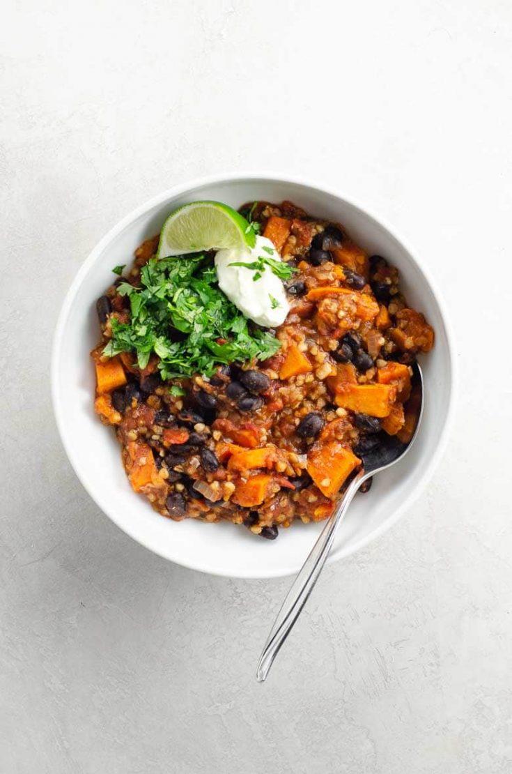 Hearty Vegan Instant Pot Chili