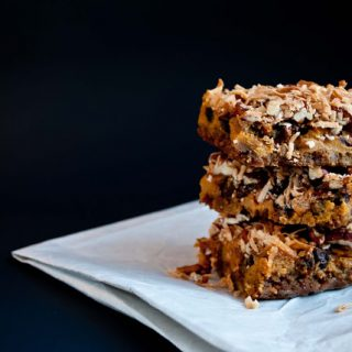 Grace on a Plate...Pumpkin 7 Layer Bars