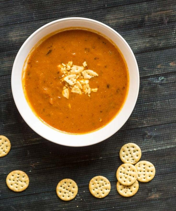 Hearty Chipotle Pumpkin Soup