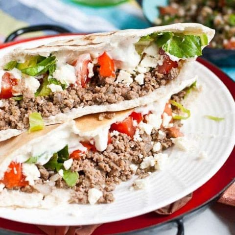 30 Minute Ground Beef Gyros