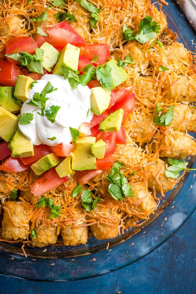 Taco Tater Tot Casserole | NeighborFood