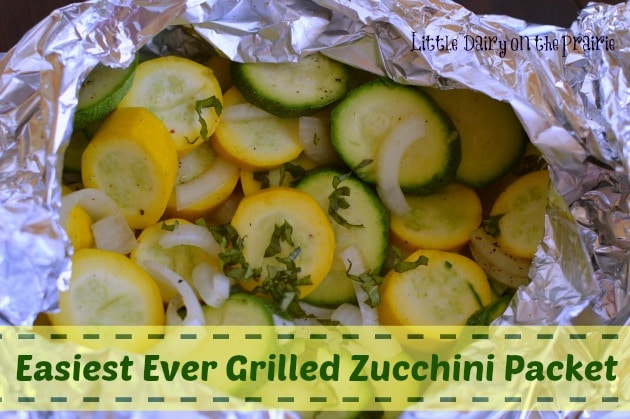 Easy Grilled Zucchini Packet