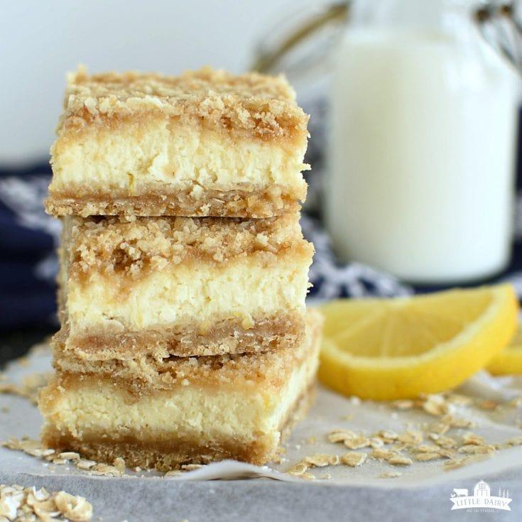 DESSERT: Lemon Cheesecake Crumb Bars