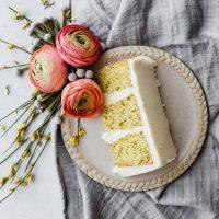 The BEST Lemon Poppy Seed Cake from Cake Mix