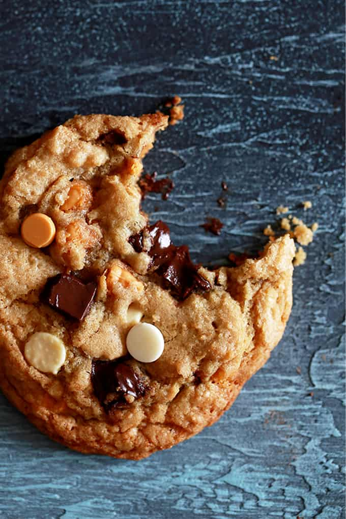 DESSERT- Triple Chip Cookies