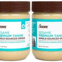 Soom - Pure Ground Sesame Tahini - 11oz (2 Pack)