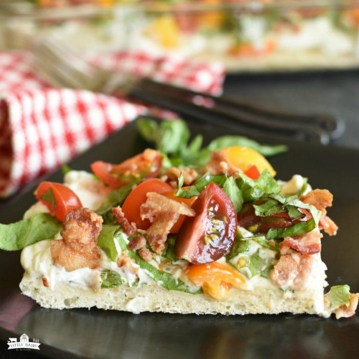 Friday- BLT Pizza