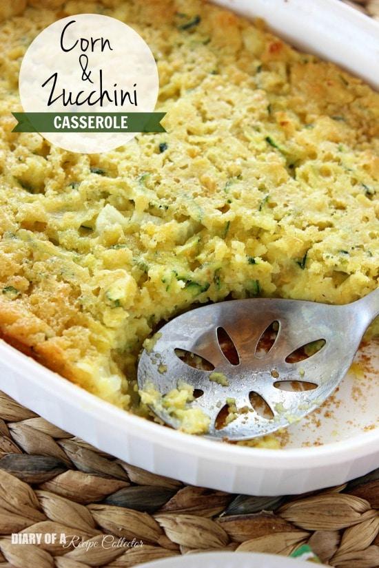 Side Dish- Corn & Zucchini Casserole