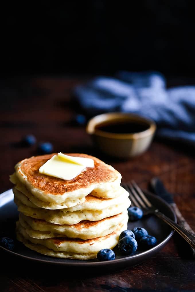 Best Buttermilk Pancakes - Melanie Makes
