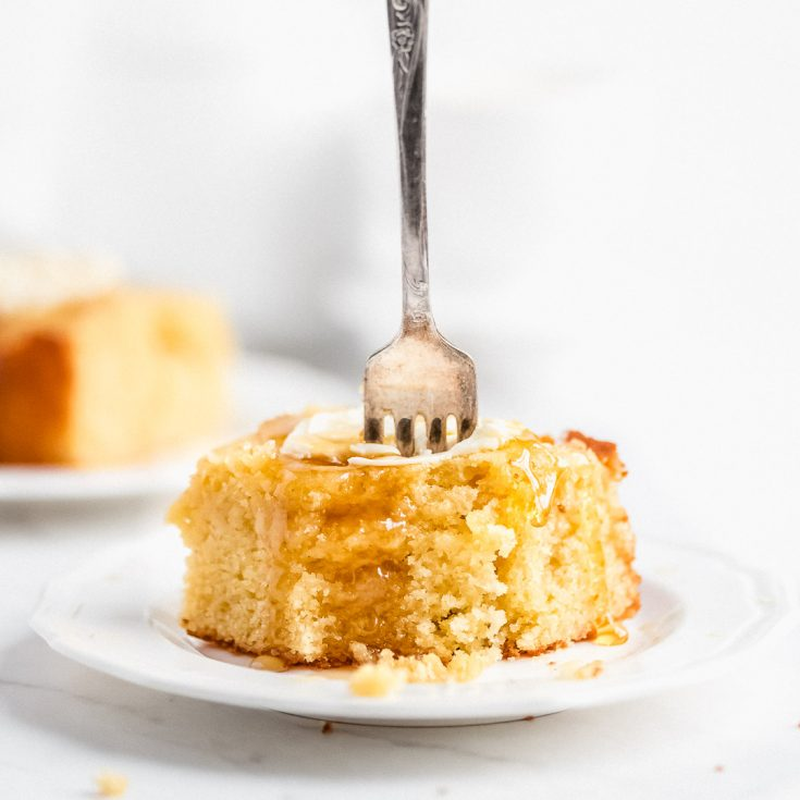 Side Dish: The Best Buttermilk Cornbread- Garnish and Glaze
