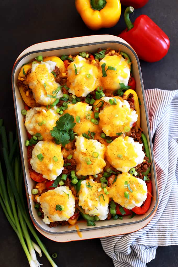 Monday- Southwest Skillet Stuffed Peppers