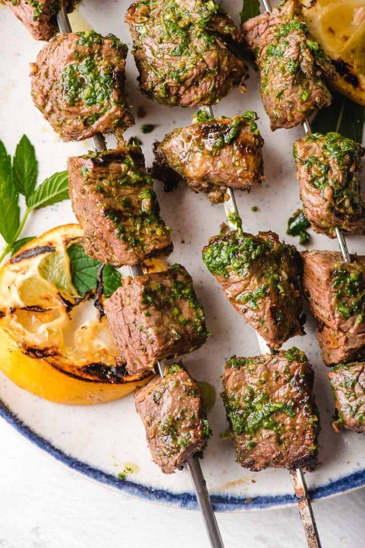 Wednesday: Grilled Steak Kabobs