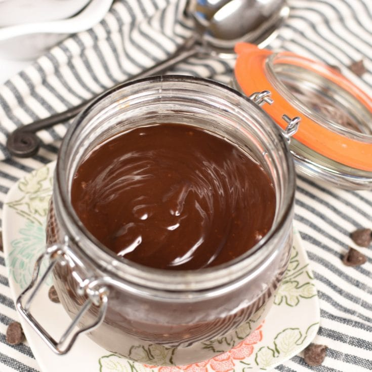 The Best Homemade Hot Fudge Sauce- Little Dairy on the Prairie