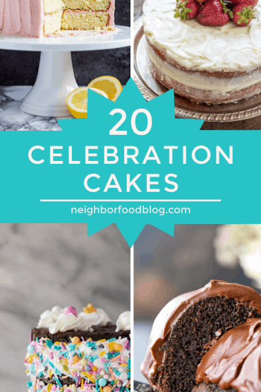 roundup of 20 celebration cakes