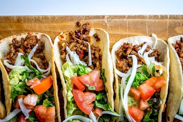 Classic Ground Beef Hardshell Tacos