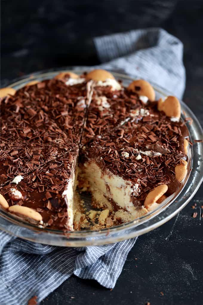 Hot Fudge Ice Cream Pie - Melanie Makes