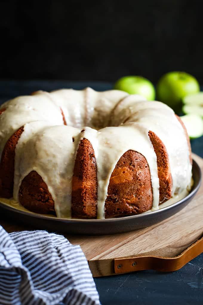 Apple Cream Cheese Bundt Cake- Melanie Makes