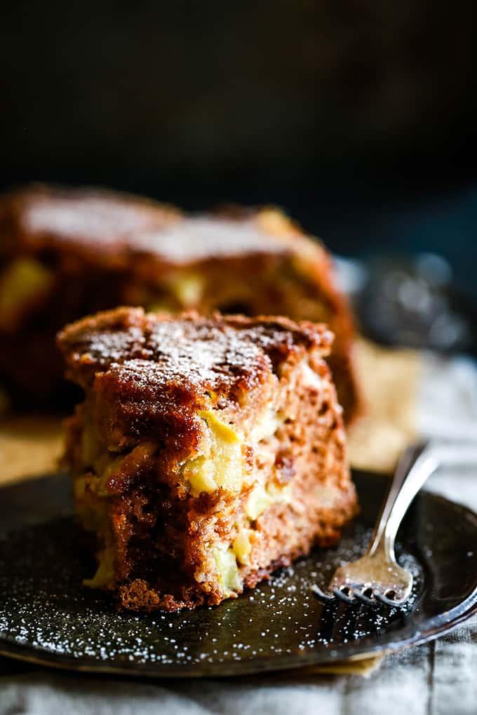 Cinnamon Sugar Apple Cake - Melanie Makes