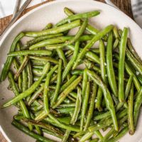 Garlic Green Beans (GF, V)