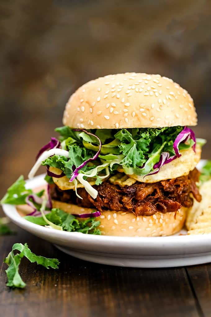 Friday: Slow Cooker Cherry Cola Pulled Pork- Melanie Makes