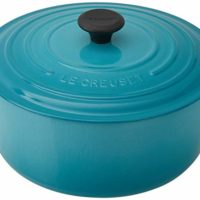 Le Creuset Enameled Cast-Iron 7-1/4-Quart Dutch Oven, Caribbean