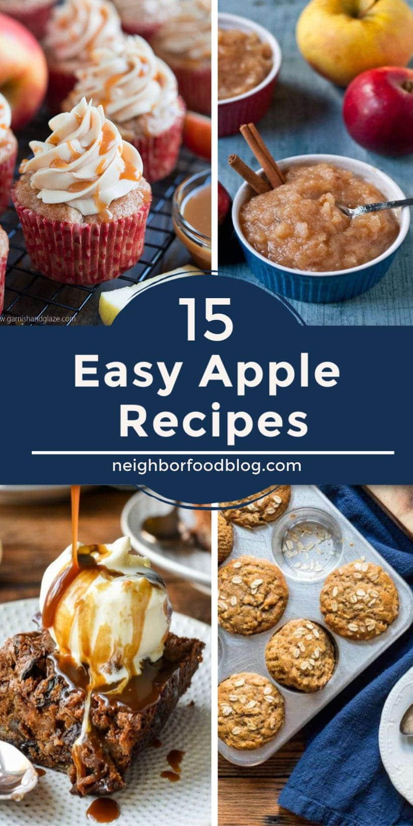 collection of easy apple recipes