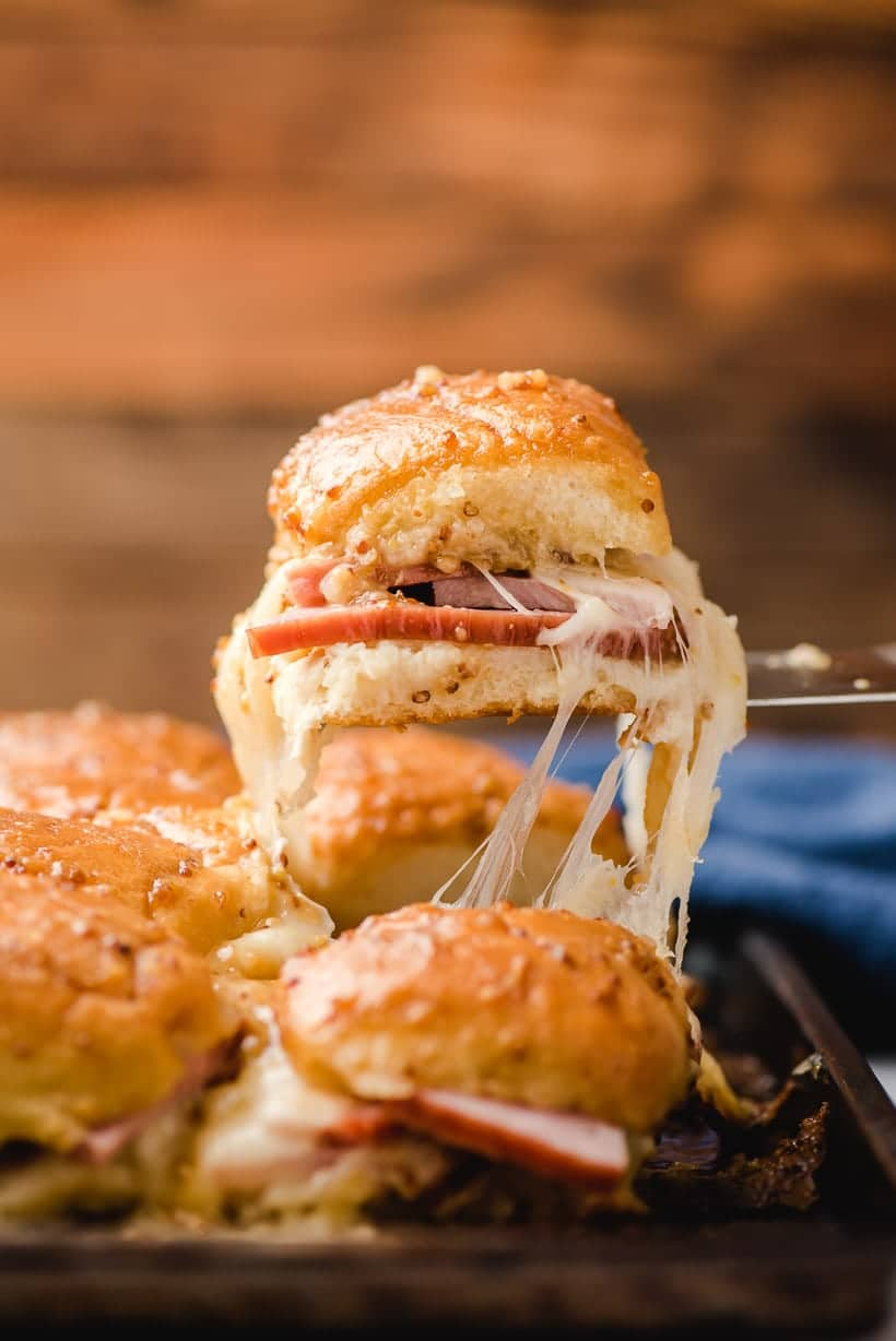 Hawaiian Roll Ham And Swiss Sliders Neighborfood