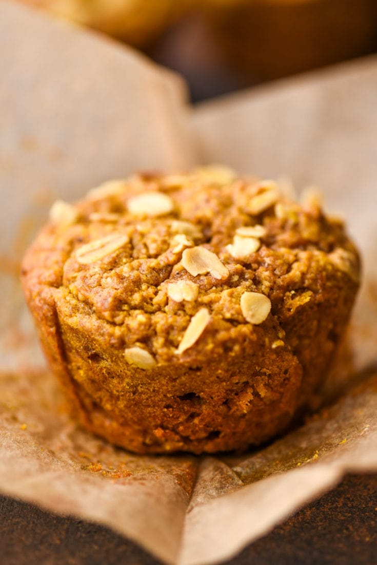 BREAKFAST- Healthy Pumpkin Muffins