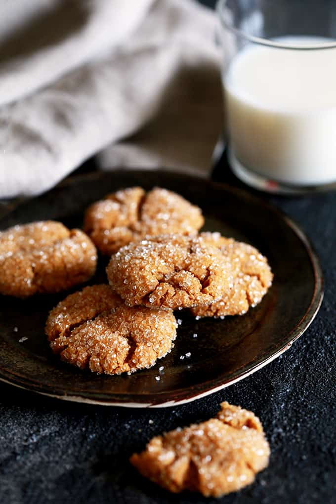 DESSERT- Soft and Chewy Pumpkin Ginger Cookies