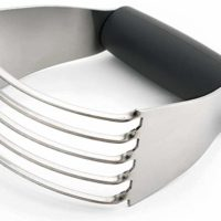 Dough Blender, Pastry Cutter with Stainless Steel Blades