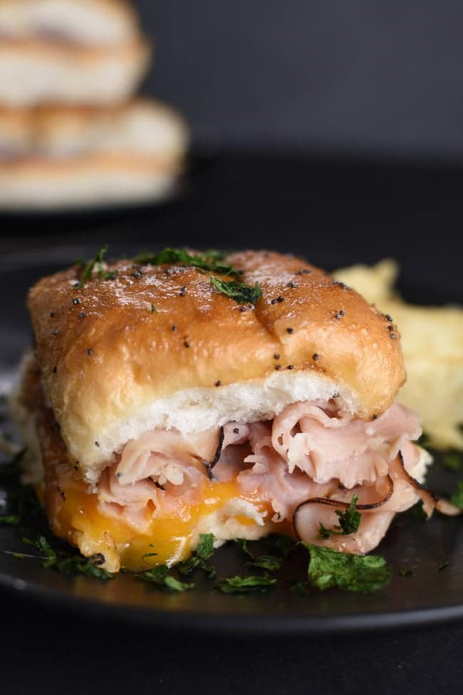 Thursday - Hot Ham and Cheese Sandwich Recipe
