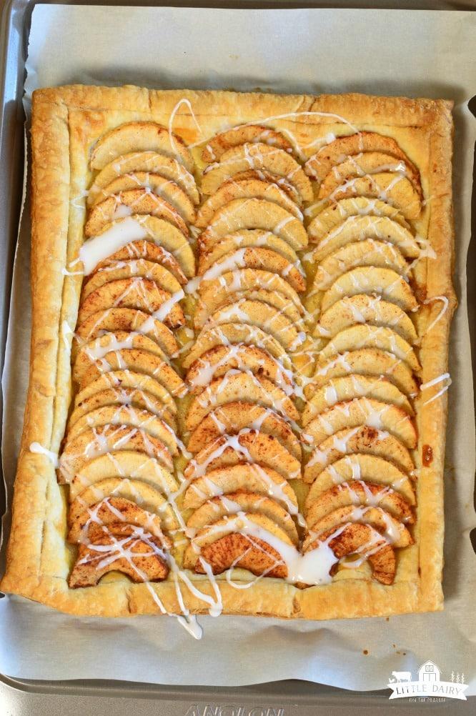 Dessert - Simple Puff Pastry Apple Tart