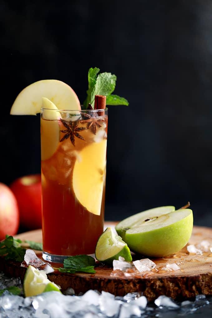 DRINK- Apple Cider Mojito