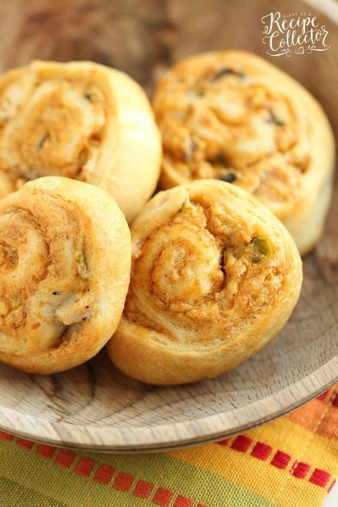 Appetizer - Crescent Chicken Taco Pinwheels
