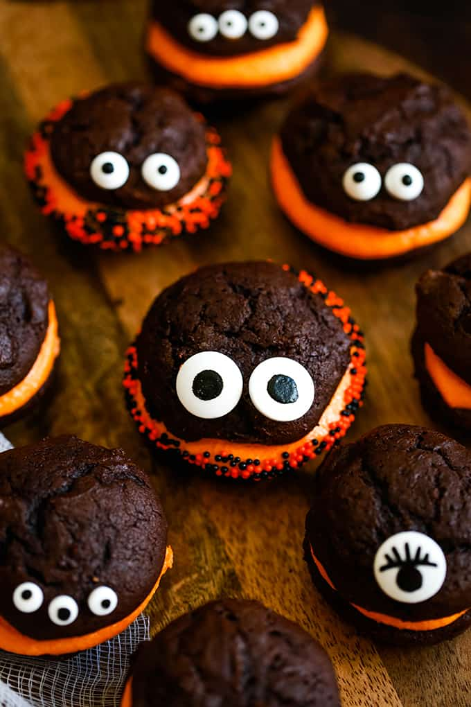 Mini Monster Whoopie Pies