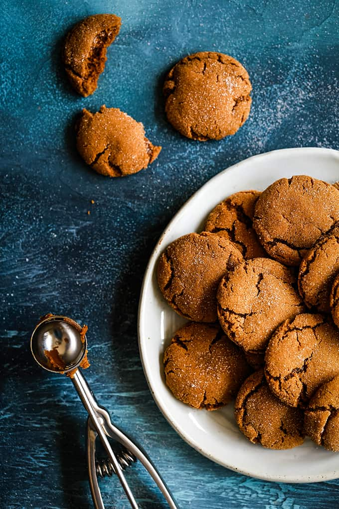 Dessert - Soft and Chewy Ginger Cookies