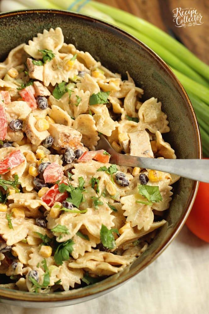 SIDE DISH- Southwestern Pasta Salad