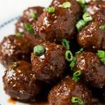 30-Minute Teriyaki Meatballs