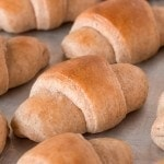 Honey Wheat Dinner Rolls
