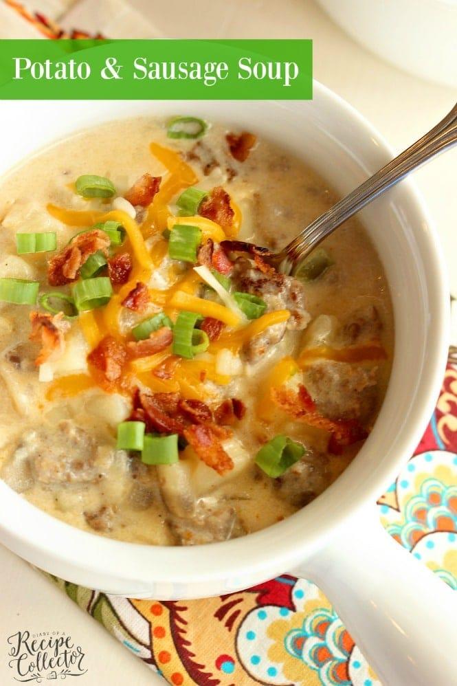TUESDAY- Potato & Sausage Soup
