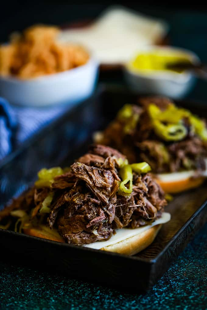 FRIDAY- Slow Cooker Pepperoncini Beef
