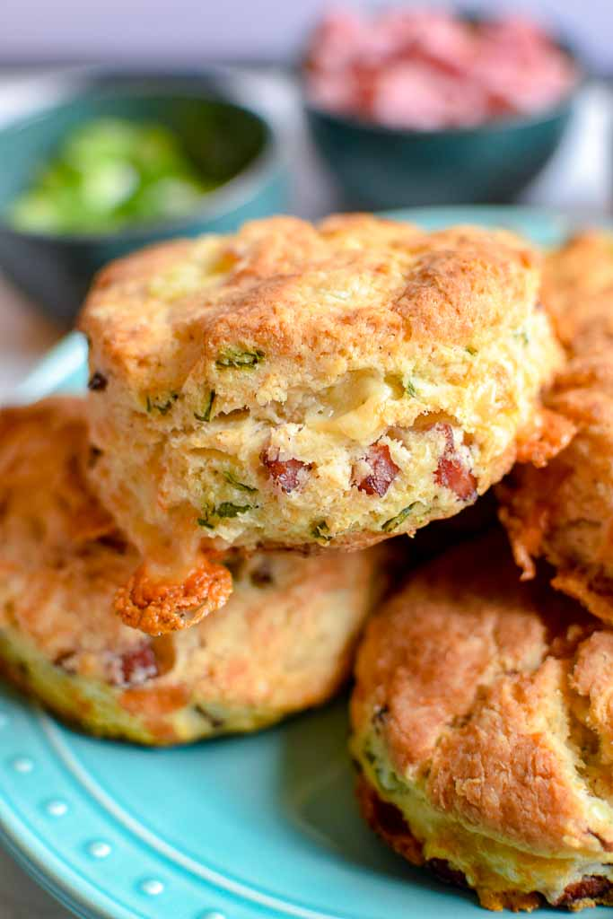 Easy and Delicious Ham and Cheese Scones