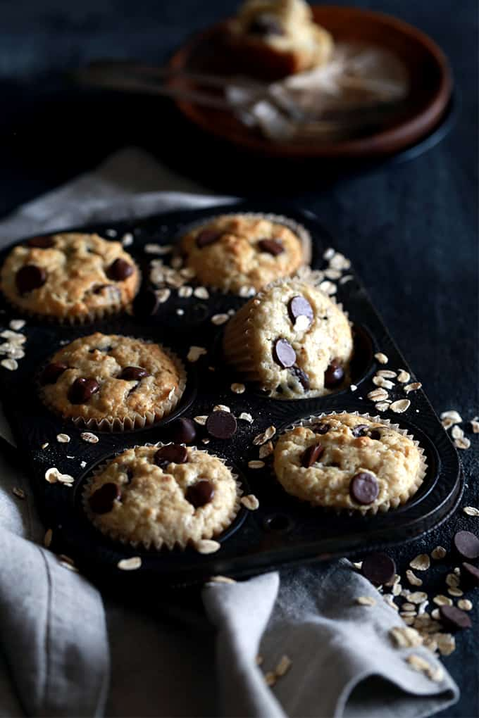 Homemade Oatmeal Muffin Mix