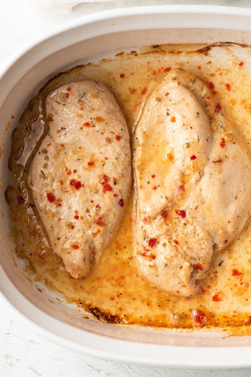 Baked Italian Dressing Chicken