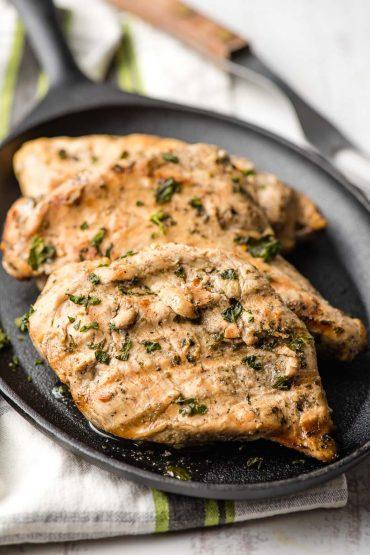 Grilled Italian Dressing Chicken