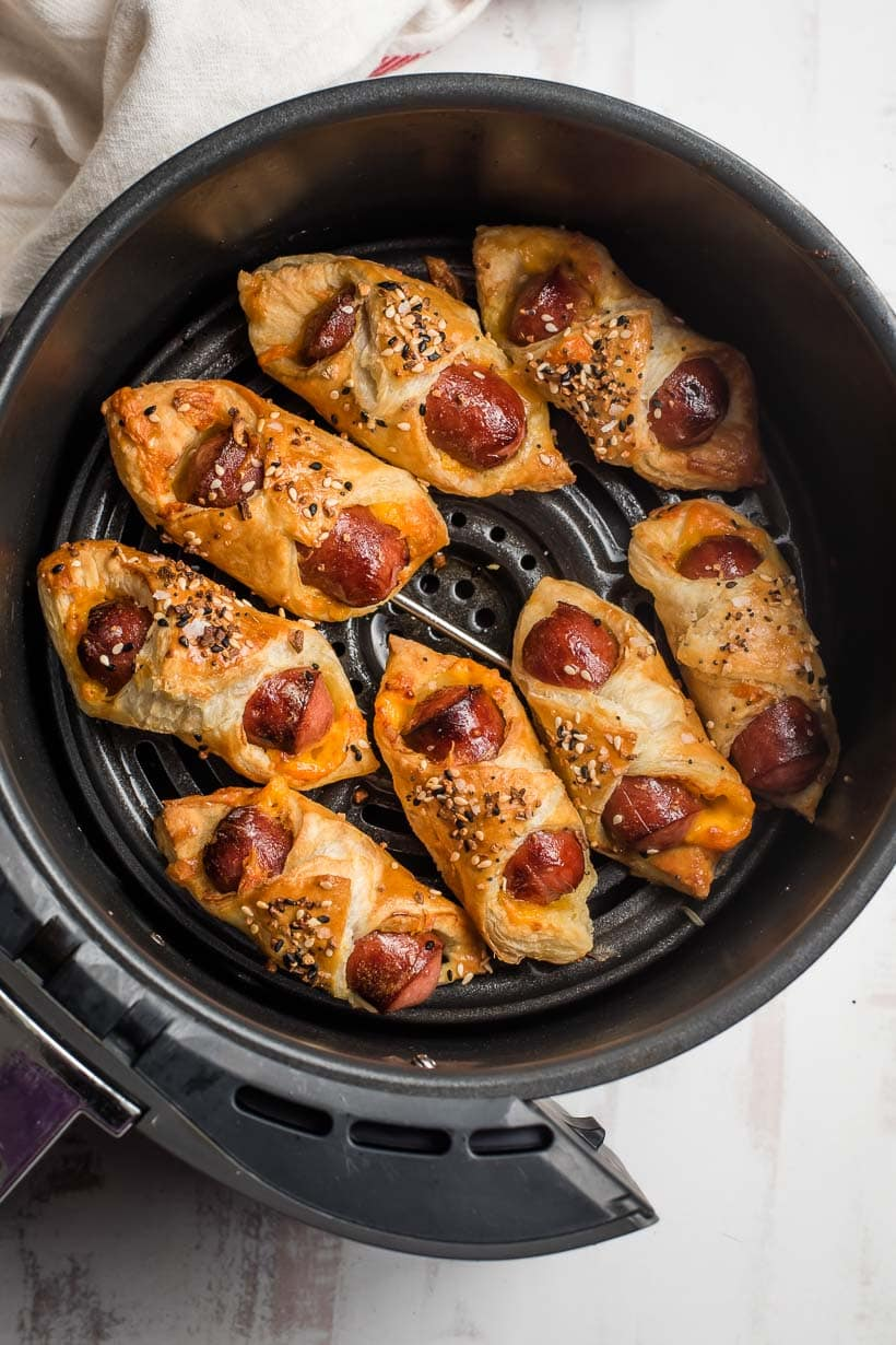 pigs in a blanket in the air fryer